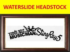 WATERSLIDE HEADSTOCK MUSIC MAN STING RAY PRODUCT ON SALE UNTIL END OF STOCK
