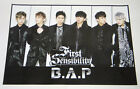 B.A.P BAP - First Sensibility (Vol. 1) OFFICIAL POSTER [Type A] with Tube Case