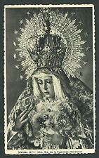 Postal antigua Virgen de la Esperanza andachtsbild santino holy card santini