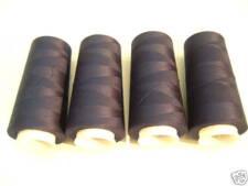 Overlockgarn in 30 Farben  4x 2500m z.B. marine, rot, gelb, weiß, schwarz, lila
