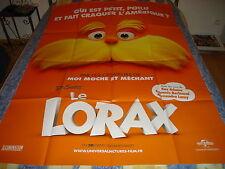 AFFICHE  ANIMATION / LE LORAX / DR SEUSS' orange
