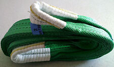 4x4 RECOVERY TOW ROPE/TOWING STRAP 2M(6.6 FT) TREE STROP WINCH EXTENSION 14 TON