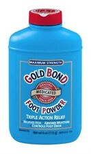 Gold Bond Medicated Foot Powder Maximum Strength 4 OZ (Pack Of 3)