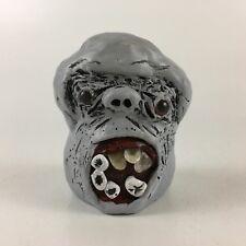Zombie Monster Head Bank Halloween Creepy Scary Frightening Gross Undead OOAK