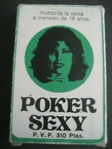 EROTIC PLAYING CARDS, SPIELKARTEN. ADULTS Nº98