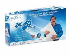 MyPillow Classic King Size Pillow, Medium Support