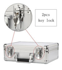 small hard aluminum case File Briefcase Outdoor Travel Flight Cases with lock