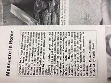 m2q ephemera 1970s film review massacre in rome richard burton