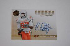 2009 Press Pass Gridiron Graphs Brandon Pettigrew Autographed Rookie Card