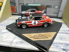 FIAT 124 Abarth Rallye Akropolis Winner 1972 #4 Lindberg Vitesse RAR SP 1:43
