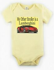 My Other Stroller is a Lamborghini Baby Bodysuit Creeper New Adorable Gift