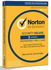 Norton Security Deluxe 3.0 - 2017 - 5 Geräte - 1 Jahr DE (PC/Mac/Tablet/Handy)