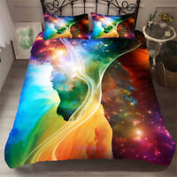 Color Universe Single/Double/Queen/King Size Bed Doona/Duvet/Quilt Cover Set