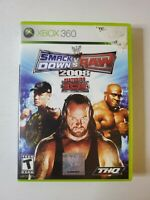 WWE SmackDown vs. Raw 2008 (Microsoft Xbox 360, 2007) *No Manual* Tested!