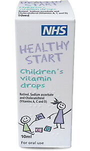 Healthy Start Children's Vitamin Drops 10ml EXP MAR - JULY 2022 UK PHARMACY