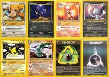Pokemon ALL Neo Genesis Set rare cards Cleffa Sneasel Elekid Magby etc CHOOSE