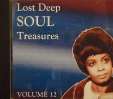 LOST DEEP SOUL TREASURES - VOLUME #12 - 21 VA TRACKS
