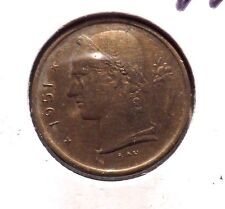 CIRCULATED 1951 1 FRANC BELGIUM COIN! (62515)