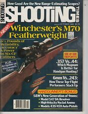 SHOOTING TIMES MAGAZINE--OCTOBER ,1981 , Winchester's M70 Gun Mag / t5