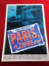 Paris Texas Kinoplakat Poster A1, Wim Wenders, Nastassja Kinski, Stanton