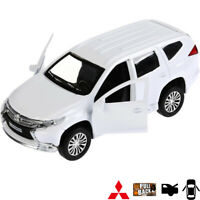 Diecast Vehicles Scale 1:36 Mitsubishi Pajero Sport Russian Model Car