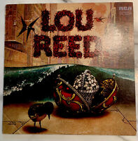 "LOU REED Lou Reed 1972 US Import Indianapolis dynaflex VINYL 12"" LP VG/VG+"