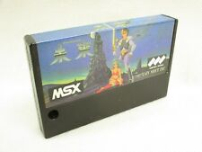 Msx mirai only cartridge xain soft japan video game msx