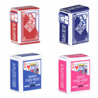 4 Set Mini Playing Cards Normal Poker Smaller Playing Cards Table Playing Board