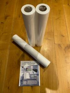 Premium Laminated Couch Rolls (x3); made using recycled tissue paper (UK Seller)
