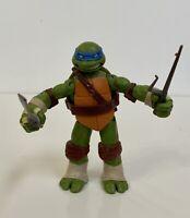 """TMNT Teenage Mutant Ninja Turtles 2012 Viacom Leonardo 4.75"""" Action Figure"""