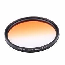 67mm Graduated Gradient Orange Color Lens Filter forAl Digital Camera Lens