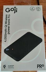 Goji 4000mAh Qi Wireless Power Bank new sealed for iphone samsung huawei etc