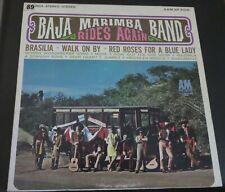 BAJA MARIMBA BAND - RIDES AGAIN - A&M Vinyl Stereo LP - SP4109