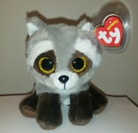 Ty Beanie Baby - BANDIT the Raccoon (6 Inch) NEW - MINT with MINT TAGS