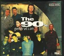 THE 90'S GENERATION CD DIGIPACK Simple Minds Stone Roses Connells Level 42 Blur