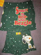 Snoopy Xmas Boxer Shorts--- Red Nose Beagle --Choose Size