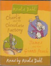Roald Dahl Charlie Chocolate Factory James Giant Peach 2 Cassette Audio Book