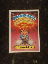 1985 Garbage Pail Kids Stickers #8B BLASTED BILLY...............NM-MT