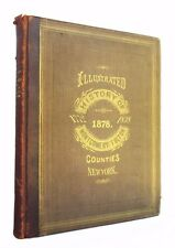 History of Montgomery and Fulton Counties, NY - large antiquarian first edition