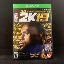 NBA 2K19 20th Anniversary Edition (Xbox One) BRAND NEW