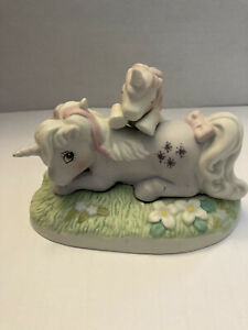 My Little Pony Lazy Afternoon G1 Porcelain 1985 Vintage Rare Powder Baby Glory