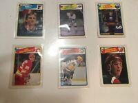 1988-89 O-Pee-Chee NHL Hockey Complete Set NM - Hull RC Gretzky Turgeon Shanahan