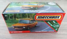 MATCHBOX Power Grabs Modell - '69 BMW 2002, unbespielt in OVP