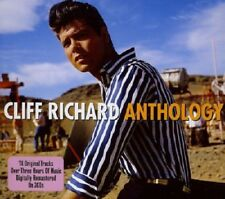Cliff Richard Anthology 3-CD NEW SEALED Move It/Living Doll/Travellin' Light+