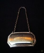 Bright Metal Decanter Tag - Volvo Embark On Excellence 1988 | FREE Delivery UK*