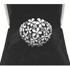 Authentic Pandora Darling Daisy Bouquet Ring W/ Pandora BOX & TAG #190936EN12