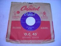 w SLEEVE Red Ingle Chew Tobacco Rag / Let Me In 1951 45rpm