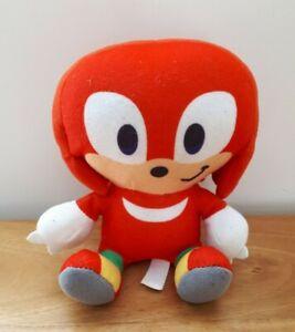 Sonic The Hedgehog Sega Plush - Knuckles the Echidna - Soft Stuffed Toy 15CM