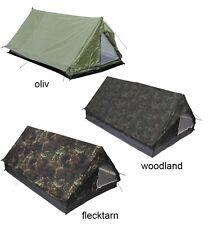 Army Minipack Zelt 2 Personen Campingzelt Ranger Zelt Armeezelt zwei Mann Zelt