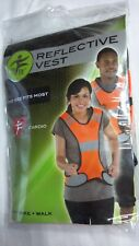 My Fit; Orange Reflective Safety Vest, Cardio, Running, Biking,Walking -One Size